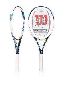 wilson juice tennis racquet