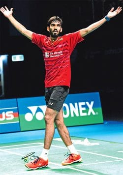 kidambi srikanth best badminton player