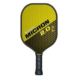 gamma micron pickleball paddle for spin