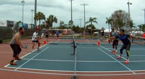 Backhand Volley with Topspin