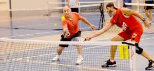 Strategies for a doubles game