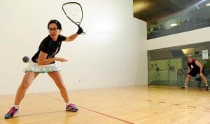 play in Racquetball Court Positioning